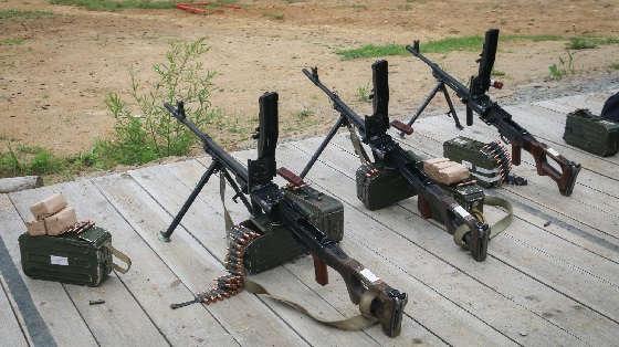 Практическая стрельба из пулемета