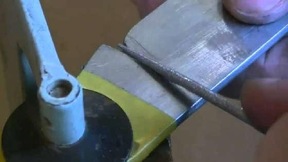 Ровные СПУСКИ при заточке ножа