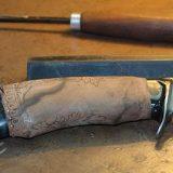 Изготовление рукоятки ножа