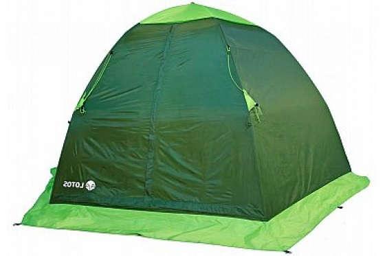 Установка палатки Lotos 5 Summer