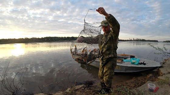 Утренняя рыбалка на донки