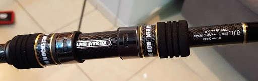 береговой джиговый хевик под судака Xesta Black Star Hard s90HX