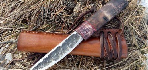 Точим и правим эвенкийский нож по-эвенкийски