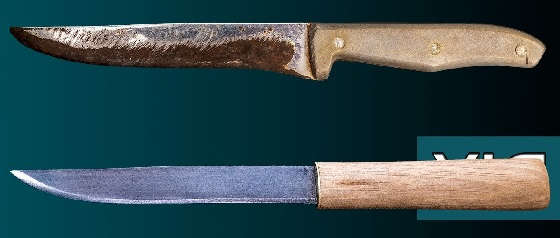 Макири из старого кухонного ножа