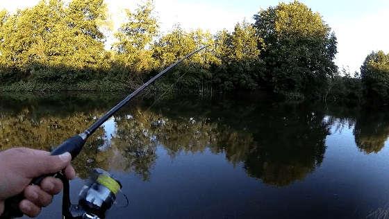 Рыбалка на спиннинг В разгар лета