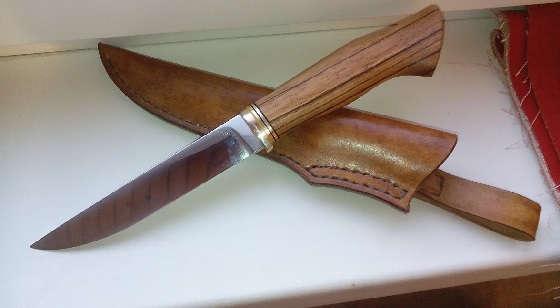 Нож из КЛАПАНА