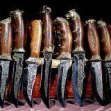 Охотничьи ножи разного вида