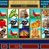 Игровой автомат Пирамида Aztec Gold