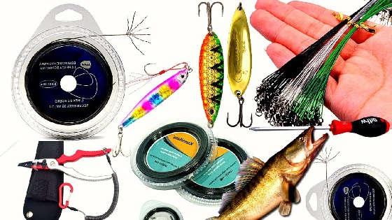 Как сделать поводки для утралайтовой ловли на колебалки
