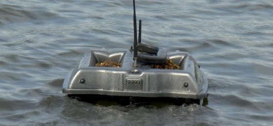 Рыбалка с корабликом