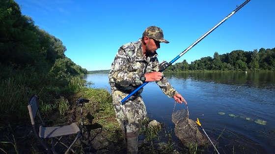 Рыбалка с Плоским Поплавком и Полудонкой