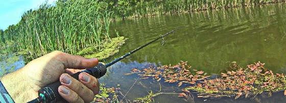 УЛОВИСТАЯ снасть для речушек с метровой глубиной