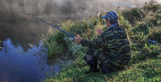 Как поймать рыбу в жару?