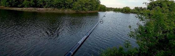 Рыбалка с берега на спиннинг
