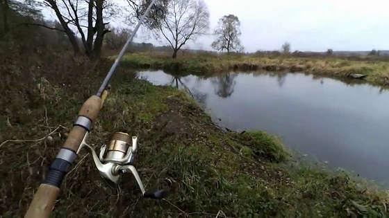 Ловля ЩУКИ на воблеры: Малая река осенью
