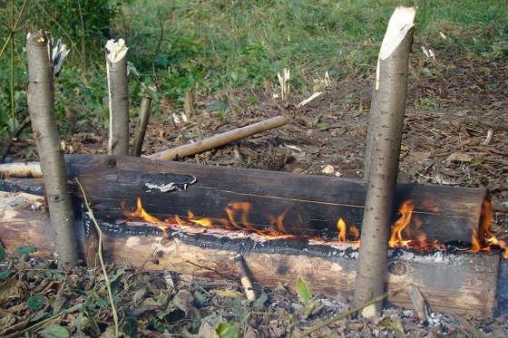 Эвенкийские дрова для костра