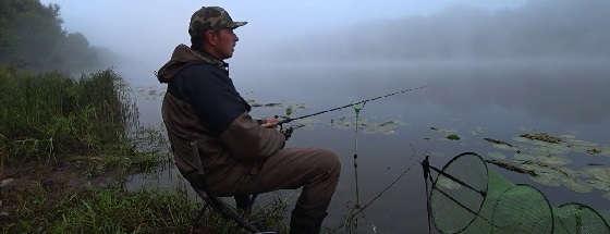 Рыбалка на Фидер ранним Утром