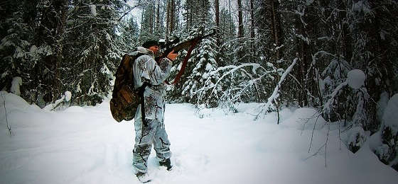 Карабины для охоты зимой в Якутии
