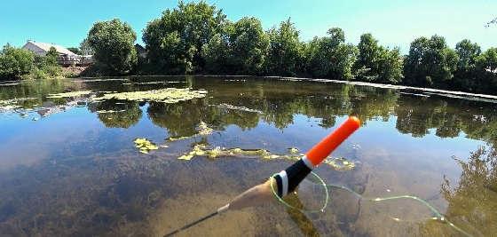 Рыбалка на карася на поплавочную удочку