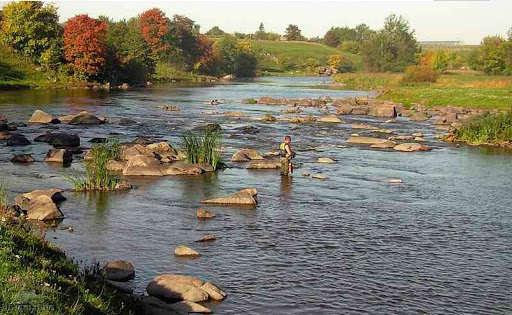 Ловля на микровоблеры на малой реке