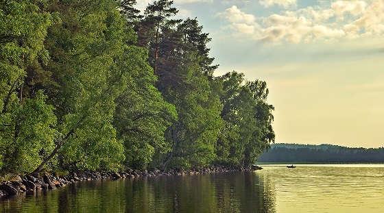 Сложное озеро для спиннингиста