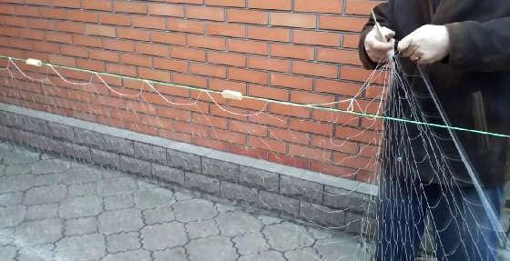 Поплавки (наплава) из бересты для сетей