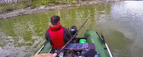 Рыбалка при подъёме уровня