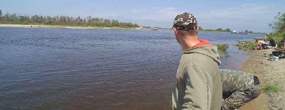 Ловля на реке Припять