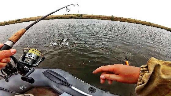 рыбалка на спиннинг в пасмурною погоду