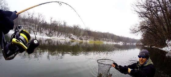 Рыбалка на спиннинг ранней весной