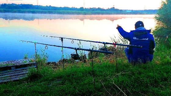 Рыбалка с НОЧЁВКОЙ на ТОЛСТОЛОБА