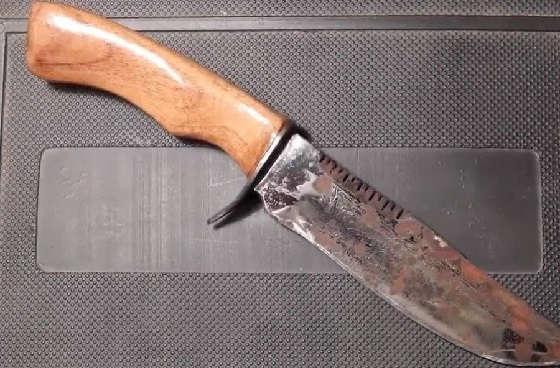 Восстановление старого охотничьего ножа