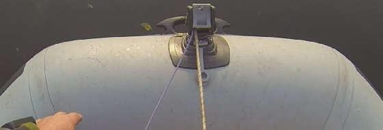 якорная система для надувной лодки