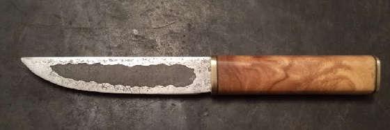Якутский Кованый Нож Своими Руками
