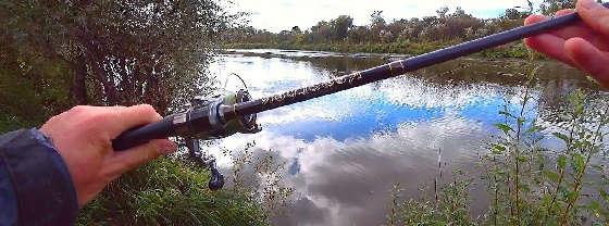 Рыбалка на БЮДЖЕТНЫЙ спиннинг Kosadaka Resolver