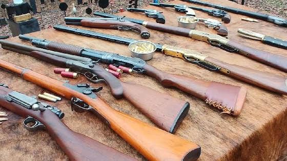 Оружие из Red Dead Redemption 2