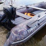 Лодка Азимут Тайфун-380 и мотор Mercury-20