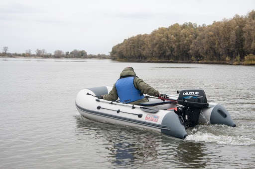 Глиссирование надувных лодок
