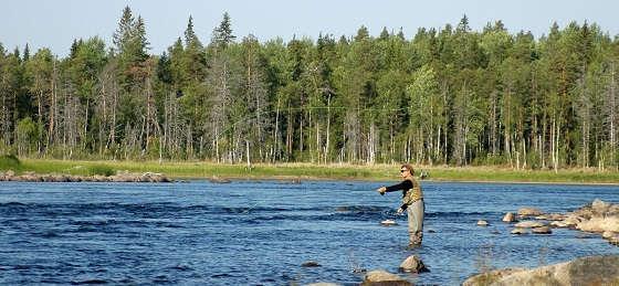 Рыбалка и отдых в Карелии
