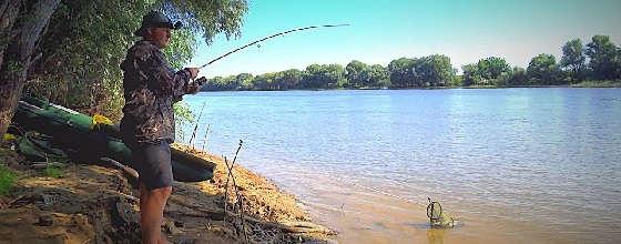 Рыбалка на закидушки и донку