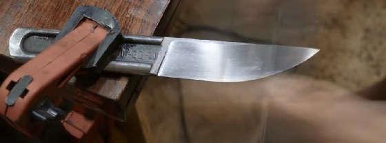 Нож из ГАЕЧНОГО КЛЮЧА