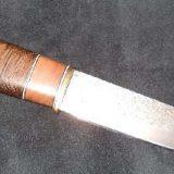 КАК сделать нож из мехпилы своими руками