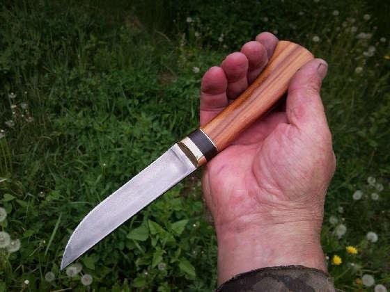Нож из пружины
