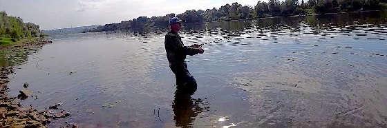 Рыбалка на ОКЕ на ВОБЛЕРЫ в сентябре 2020
