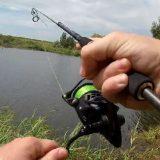 Рыбалка на спиннинг в корягах