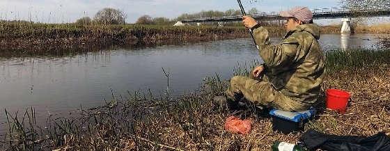 Рыбалка в Беларуси на реке Свислочь