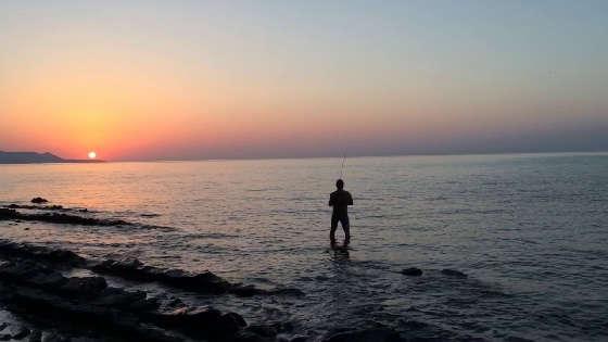 С ультралайтом на Черном море с берега