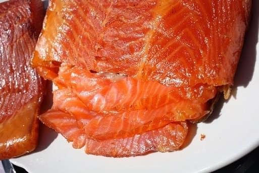 Копчение красной рыбы