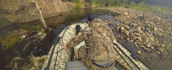 Рыбалка на таежных реках Архангельской области
