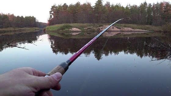 ловля налима осенью на реке Чулым